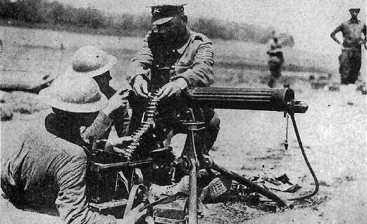 Machine Guns - Terrifying technology of wwi